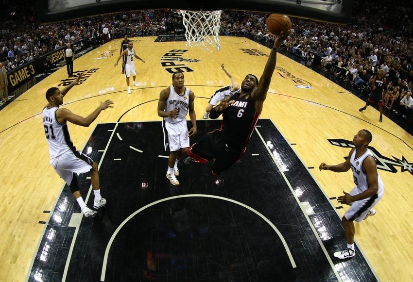 Nba Finals 2014 Lebron James Goes Off In Game 2 Video