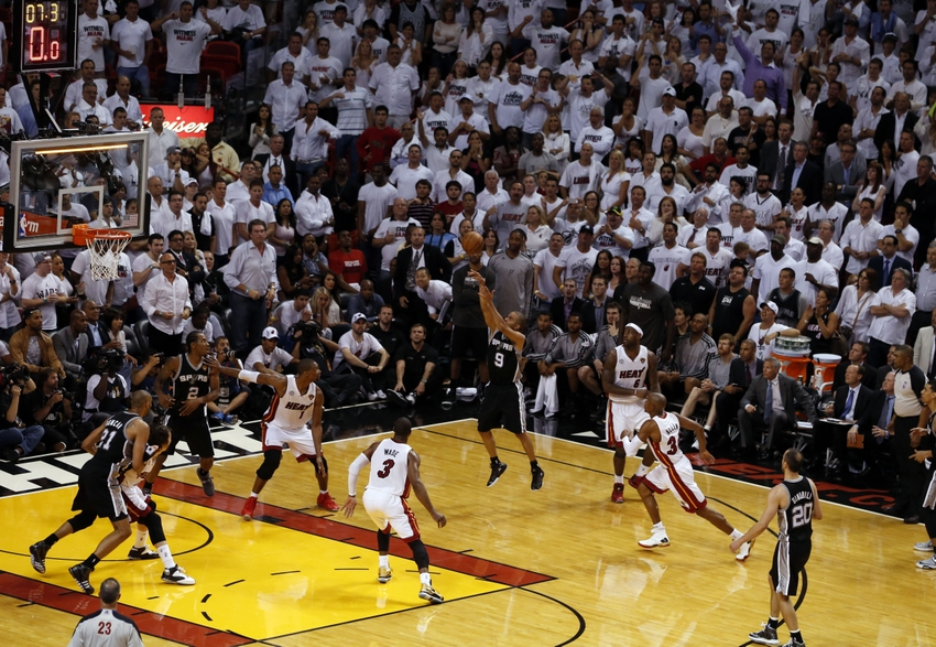 Nba Finals Flashback Parker Spurs Rise Late To Take Game 1