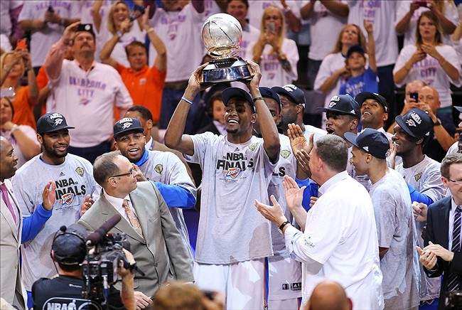 2012 Western Conference Finals: OKC Thunder Win Conference ...