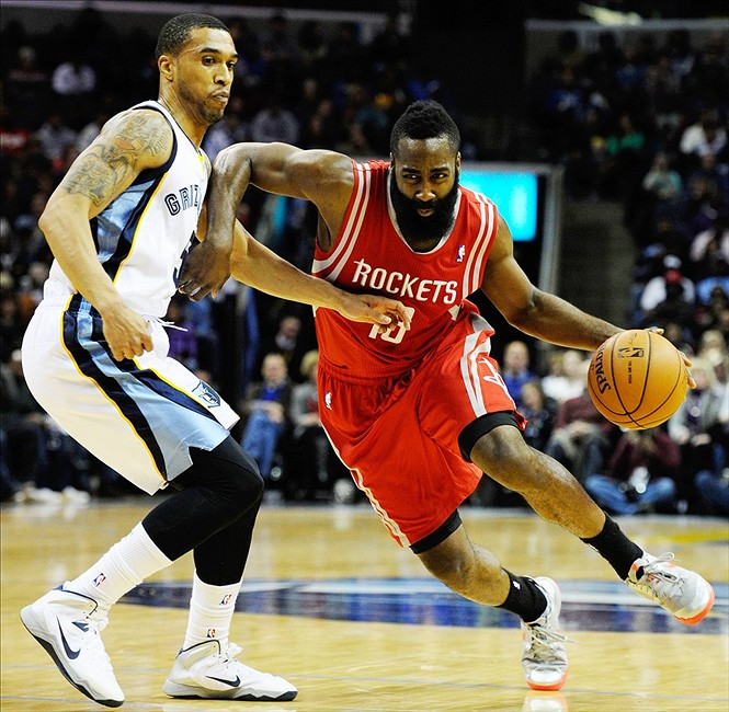 Nuggets Vs Rockets 2014: Rockets' James Harden OUT Vs Spurs Due To Bruised Left Thumb