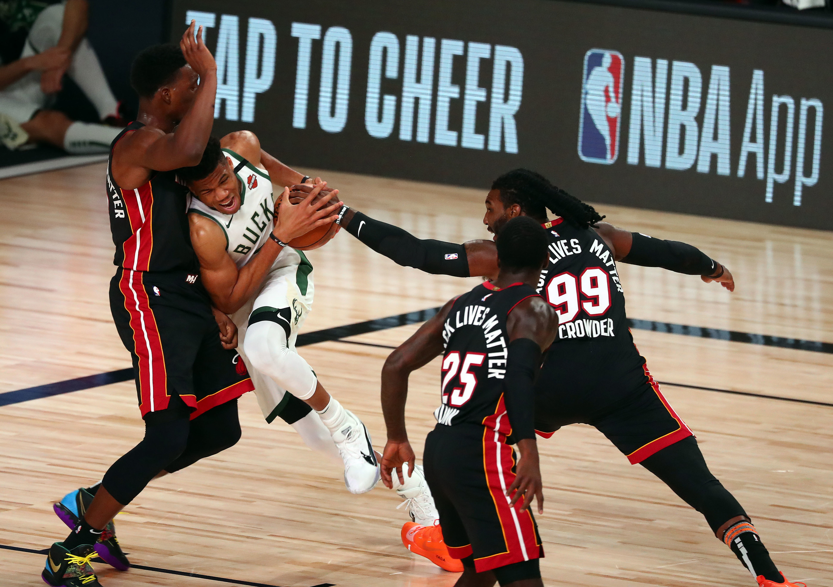 How Giannis Antetokounmpo Has Been Slowed Down By The Miami Heat