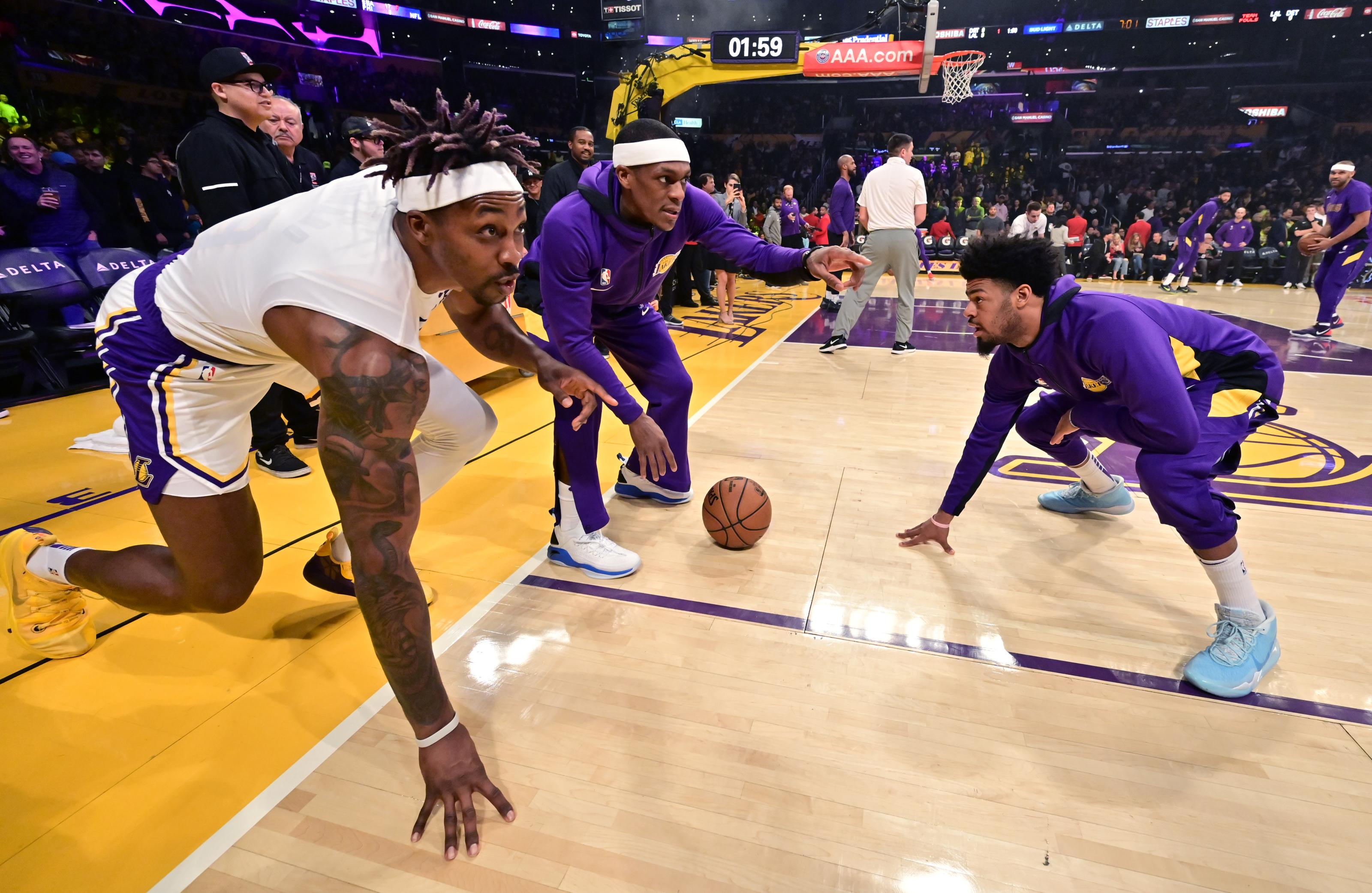 Los Angeles Lakers Are Rajon Rondo Dwight Howard Hall Of Fame Locks