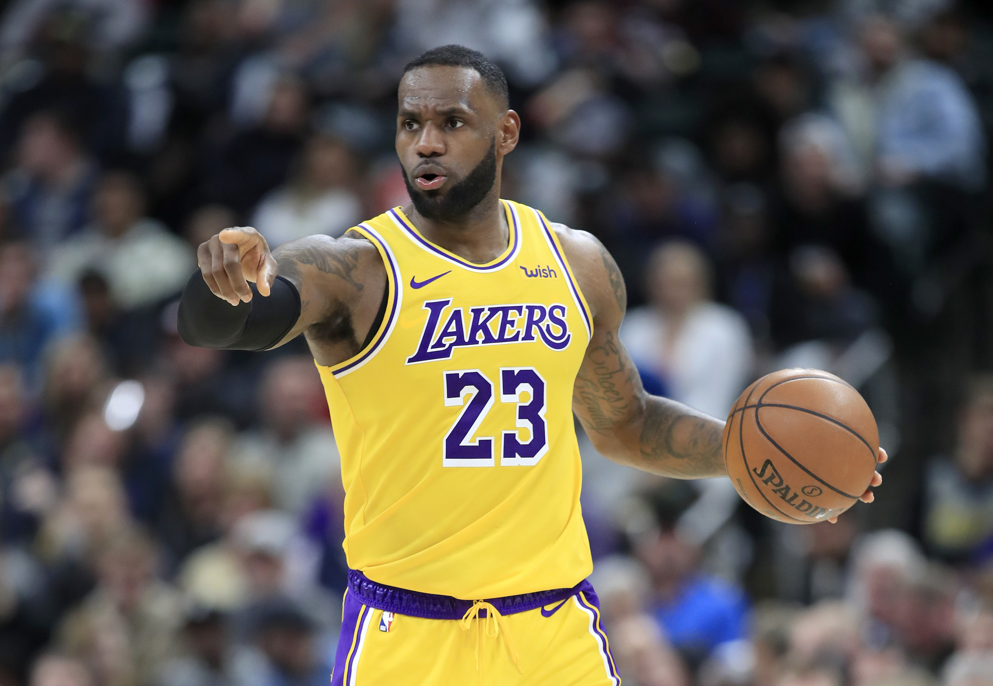 LeBron James is having a sensational season, but will he deliver a title to LA?