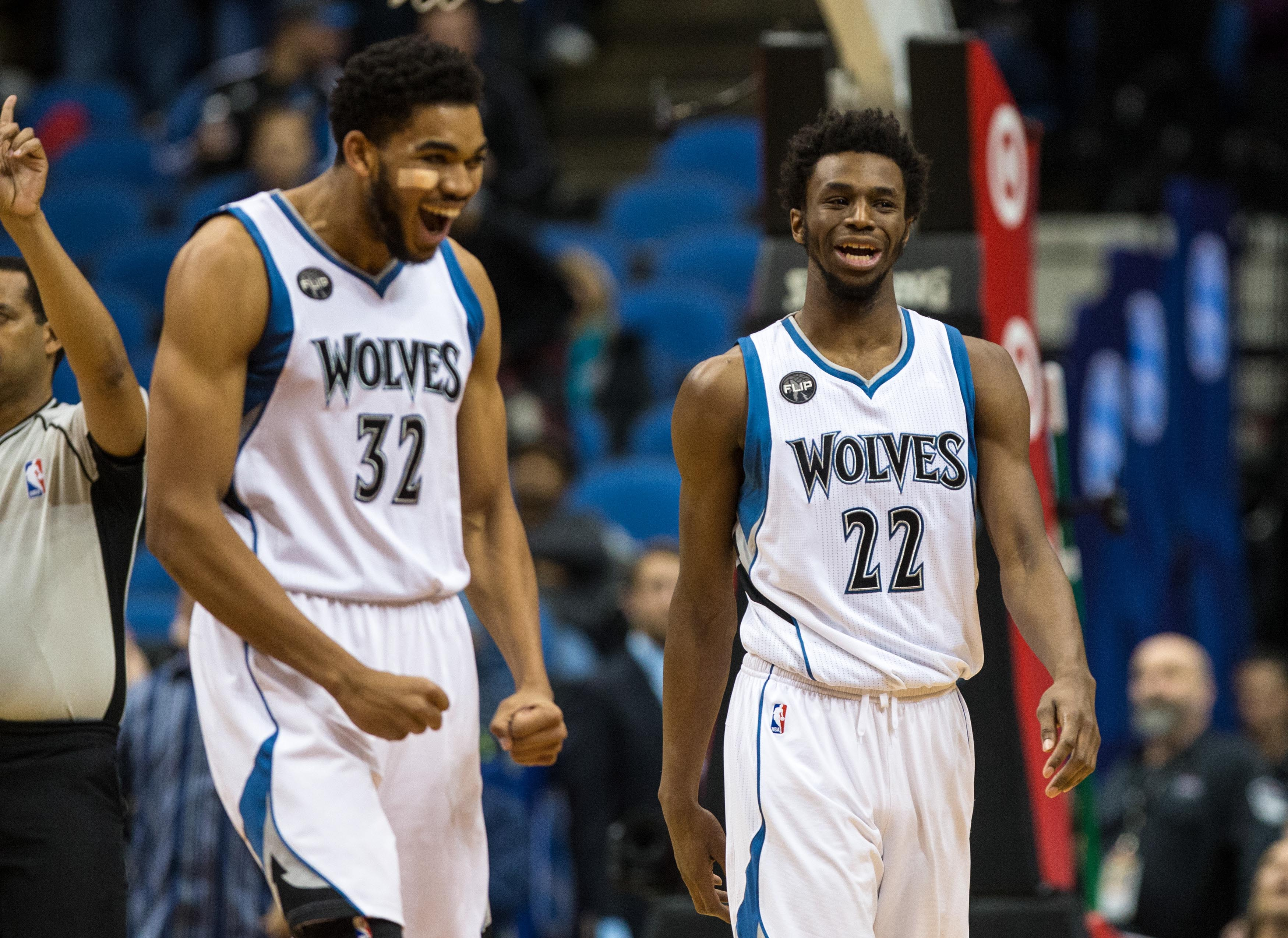 Timberwolves Number 22